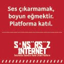 İnternette Sansüre Karşı Ortak Platform