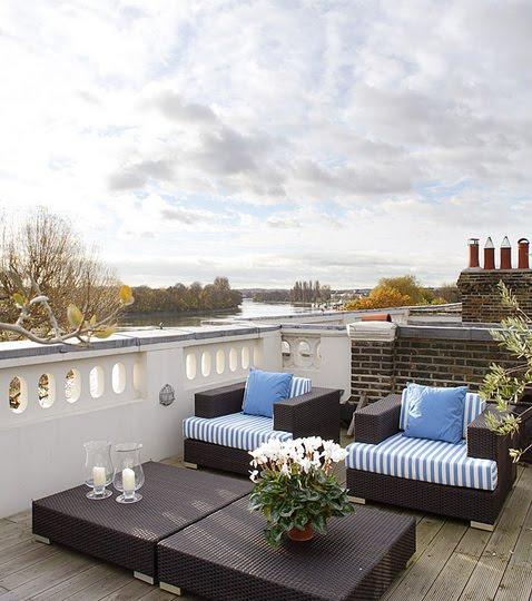 terraza azotea con encanto
