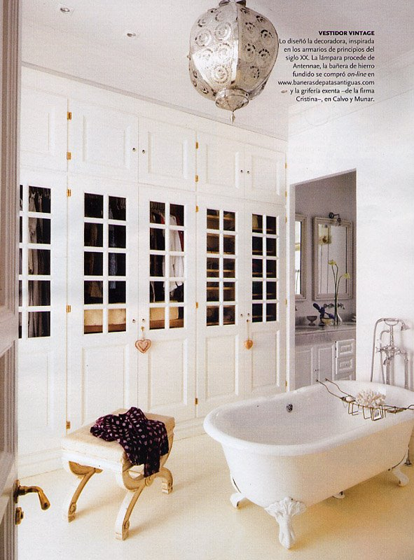 Baño Vestidor Pequeno: tu casa: Más que un vestidor [] Much more than just a walk-in closet