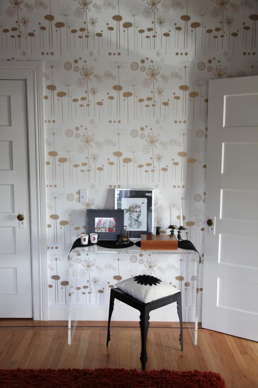 Papel pintado vintage imagui - Papel pintado dormitorio principal ...
