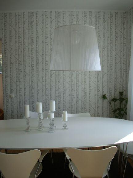 Vintage chic blog decoraci n vintage diy ideas para decorar tu casa comedor blanco - Mesa ovalada ikea ...