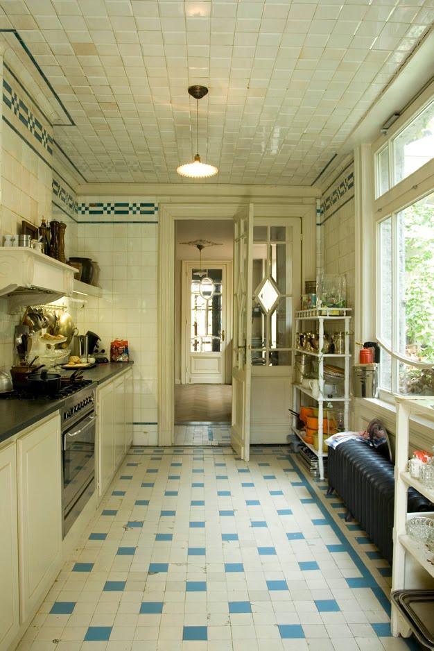 Vintage chic blog decoraci n vintage diy ideas para for Azulejos antiguos para cocina