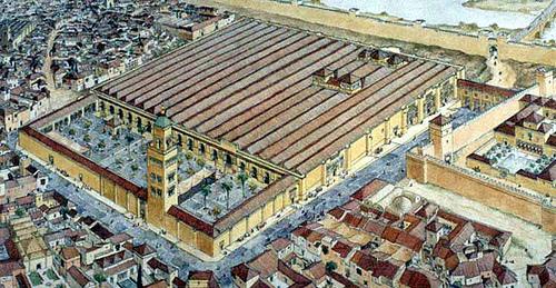 Historia del arte la mezquita de c rdoba for Exterior mezquita de cordoba