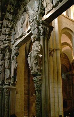 Historia del arte el p rtico de la gloria for Avvolgere le planimetrie del portico
