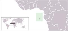 SÃO TOMÉ E PRÍNCIPE - Localização Geográfica