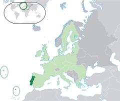 PORTUGAL - Localização Geográfica