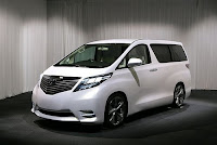 Kete impianku, Toyota Alphard