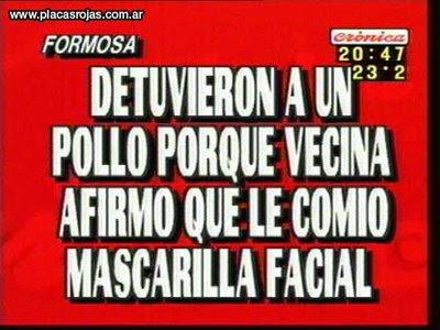 Cronica TV - Algunas de sus Imperdibles Placas