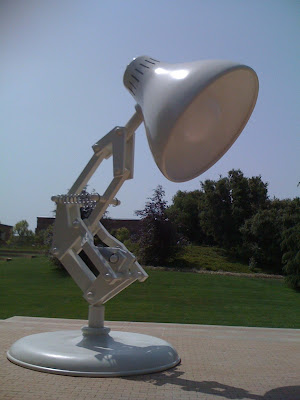 pixar lamp. The Pixar Lamp is BIG!