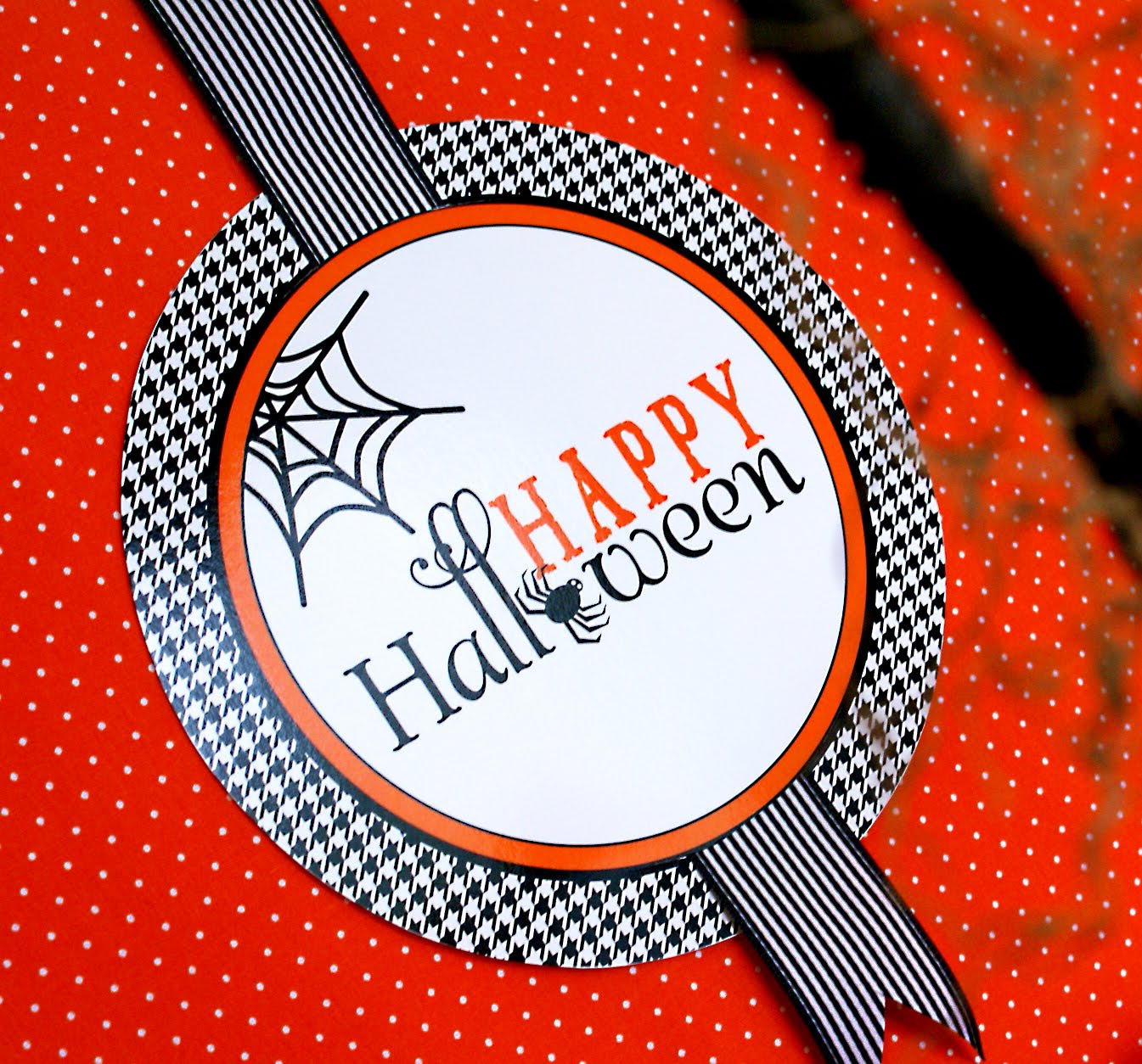 photograph about Happy Halloween Signs Printable known as Magnificent Characteristics as a result of Anders Ruff Tailor made Layouts: Free of charge