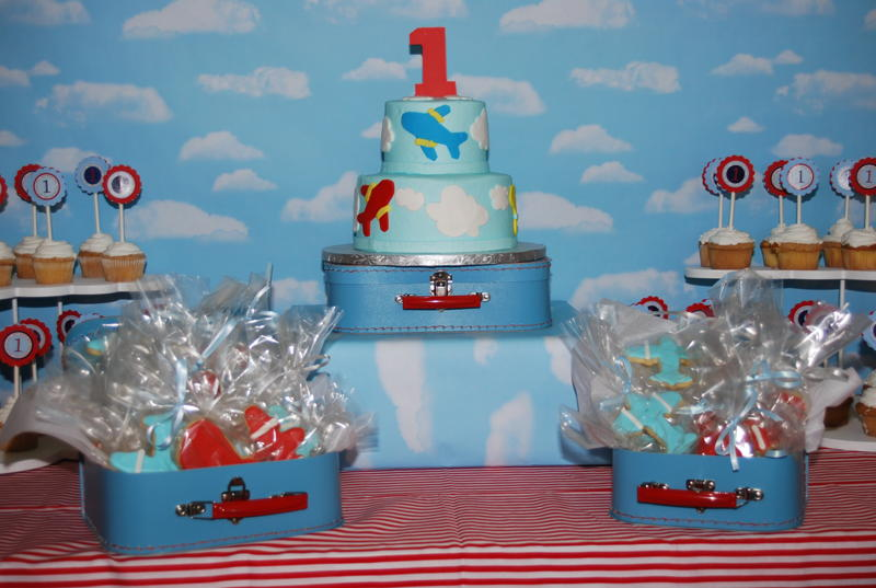 ... Designs: {Featured Client Parties} Bradys Airplane Birthday Party
