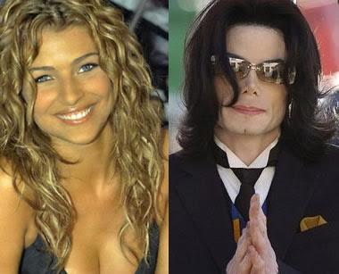 Cristina Chiabotto e Michael Jackson