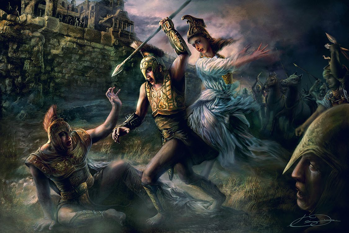 the choice of achilles In greek mythology, achilles or achilleus was a greek hero of the trojan war and  the central character and greatest warrior of homer's iliad his mother was the.