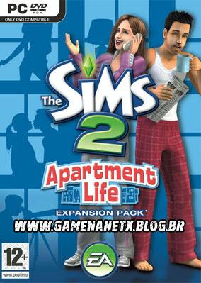 THE SIMS 2: APARTMENT LIFE - PC - EXPANSÃO - 2 OPÇÕES Thesims2_apartment