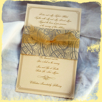 custom wedding invitations and custom save the dates