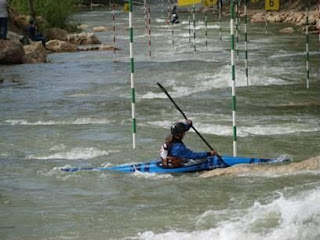 Copa de España de Slalom 2008, Canal de Cuenca