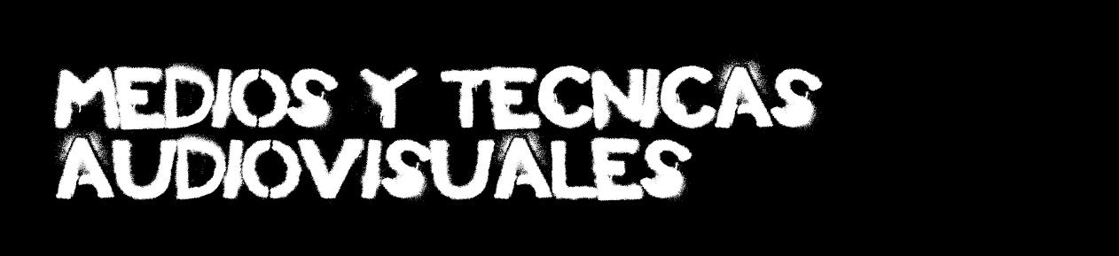 Medios y técnicas audiovisuales (Moda)