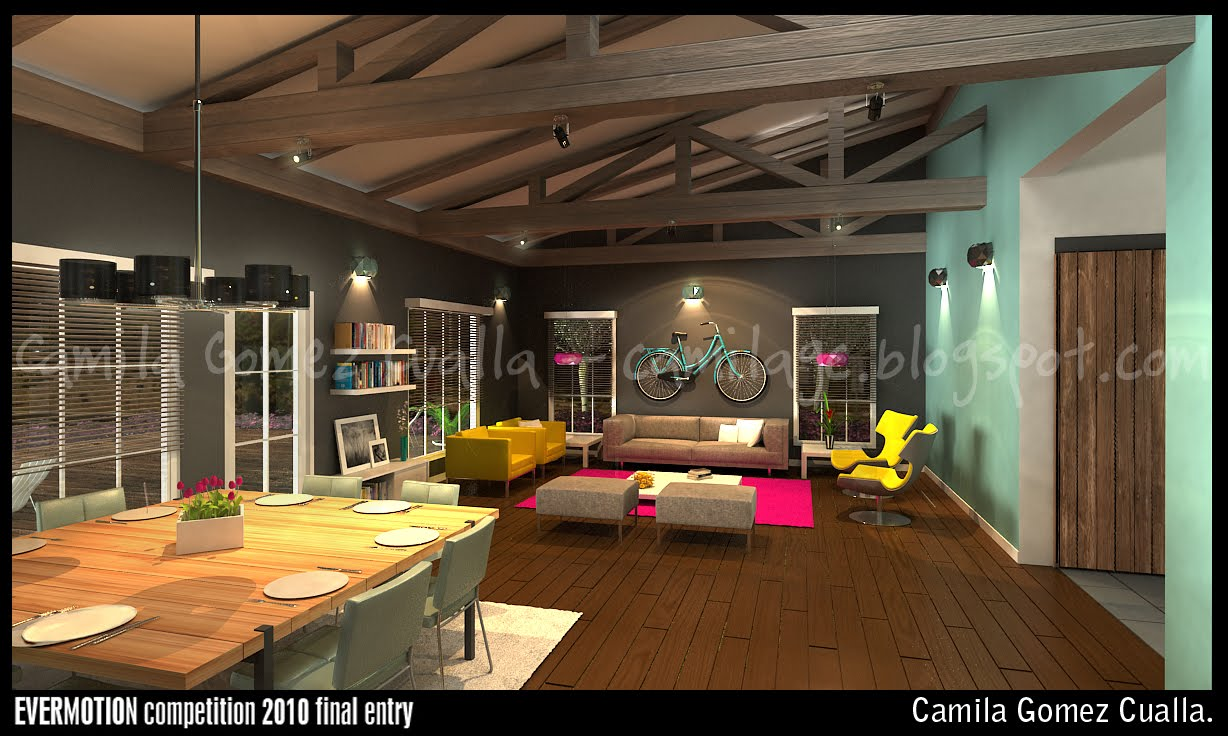 Portfolio Evermotion Interior Design Competition 2010