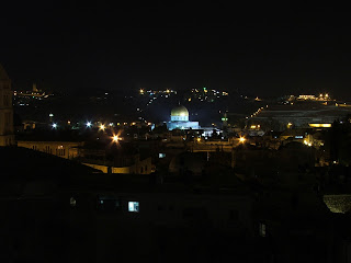 Jerusalem at night (not my own photo)