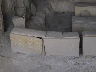 Ossuaries at Dominus Flevit