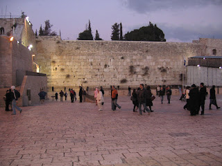 The Western Wall at Dusk