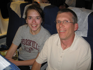 Dr. Yates and his daughter Erin