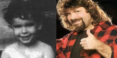 fotografia de Mick Foley cuando era un niño inocente