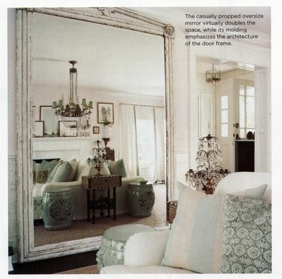 Living Room Mirror on This Beauty  In A Beautiful Country Living Room From House To Home