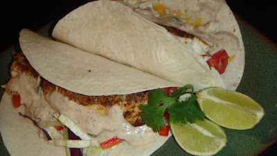 Deals to Meals: Fresh Fish Tacos with Lime Dressing