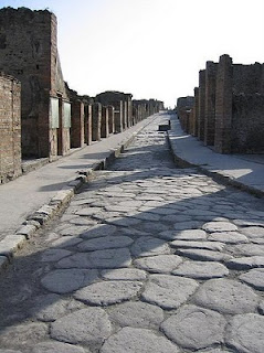 Street in Pompeii, by Paul Vlaar