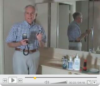 Experienced man shaving tips