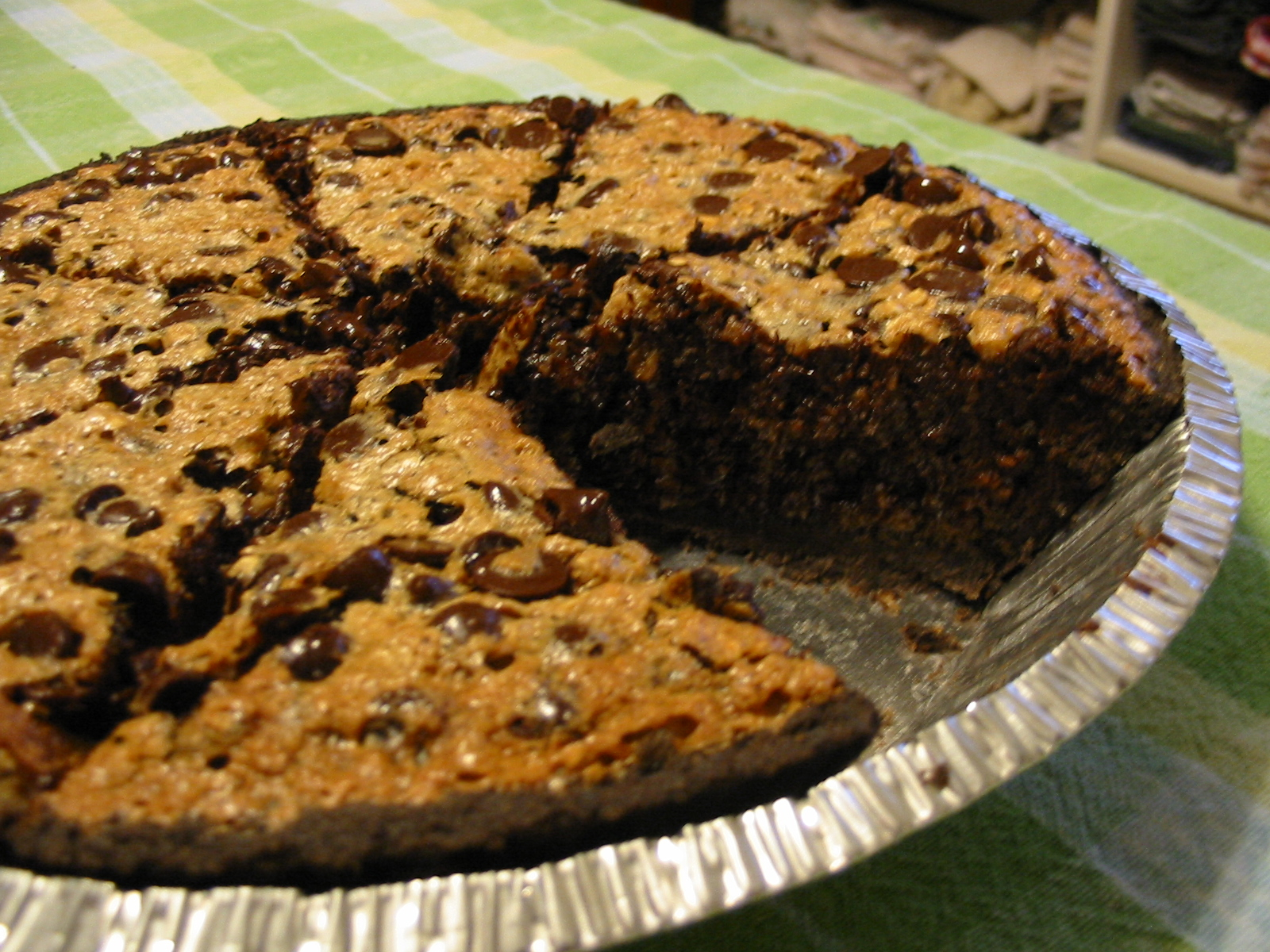 Chocolate Oatmeal Pie Recipe — Dishmaps