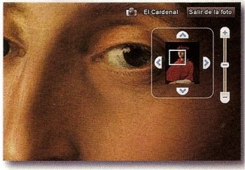 Imagen aumentada en una obra de Rafael