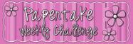 Papertake Weekly Challenge