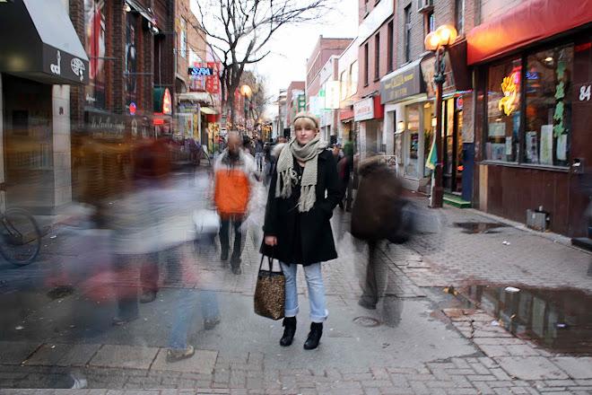 un samedi après midi au quartier chinois de Montréal