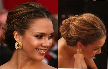 Jessica alba updo hairstyles with braids 2015 new hairstyles jessica alba updo hairstyles with braids pmusecretfo Image collections