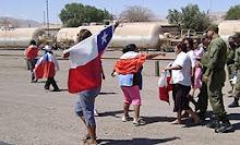 Bochornosas protestas en Baquedano...