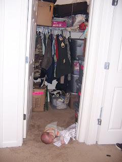 Crazy Adventures in Parenting - Organizing Children's Clothes