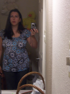 Before weight loss picture front