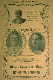 Programa da World Series, 1903