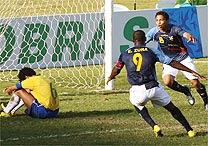 Brasil eliminado pelo Equador
