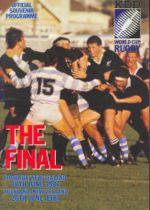 Final da Copa do Mundo de Rugby, 1987