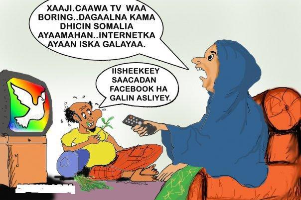 Naag Soomaali oo Facebook ku waalatay ninkeedina qaad dilay