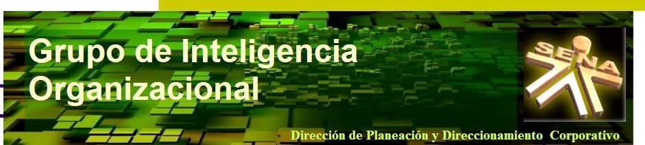 Grupo de Planeación Estratégica e Inteligencia Organizacional