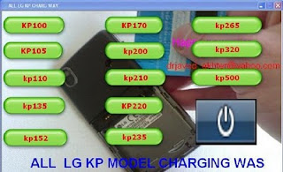ALL New LG (kp 100 To kp 500) Charging Jumper Solution Pack