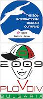 Логотипы международных олимпиад-2009 по биологии и информатике