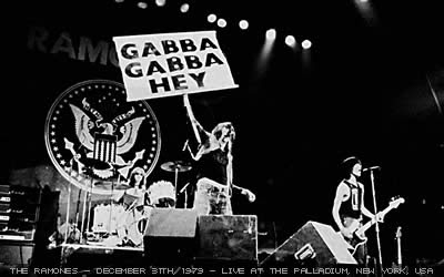 Ramones Happy New Year Palladium 1979