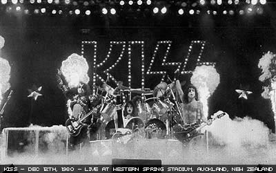 Kiss Live in Auckland New Zealand 1980