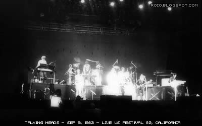 Talking Heads Live us Festival82