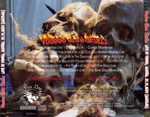 Voodoo Glow Skulls live in Vienna, Austria. Noviembre 27 de 2007 Back
